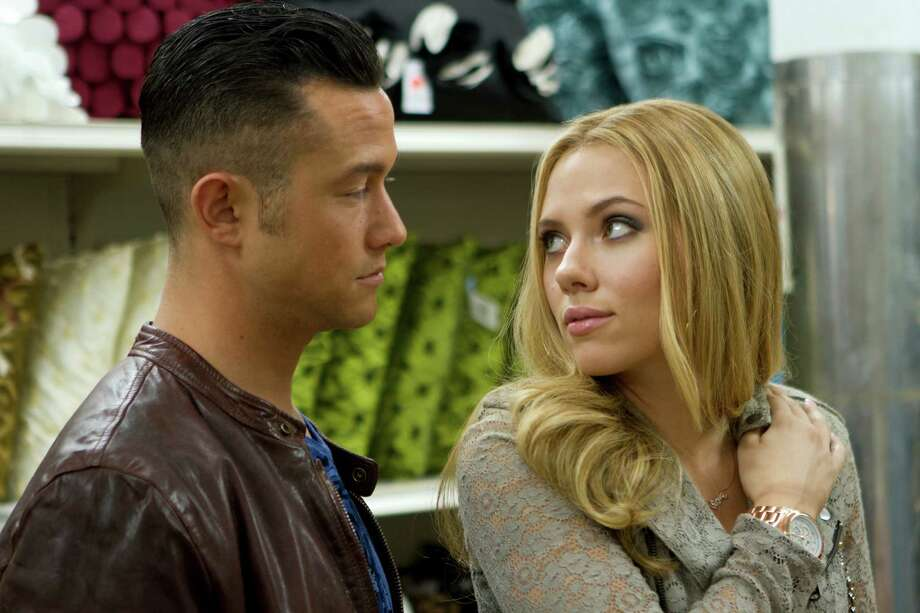 "Joseph Gordon-Levitt and Scarlett Johansson in ""Don Jon,"" in an undated handout image. On Sept. 27 Gordon-Levitt enters the ranks of first-time film directors with ODon Jon,O an edgy romantic comedy he stars in and also wrote. (Daniel McFadden/Relativity Media via The New York Times) -- NO SALES; FOR EDITORIAL USE ONLY WITH STORY SLUGGED FILM-GORDON-LEVITT ADV22 BY MARGY ROCHLIN. ALL OTHER USE PROHIBITED. -- PHOTO MOVED IN ADVANCE AND NOT FOR USE - ONLINE OR IN PRINT - BEFORE SEPT. 22, 2013. ORG XMIT: XNYT15 Photo: DANIEL MCFADDEN / RELATIVITY MEDIA"