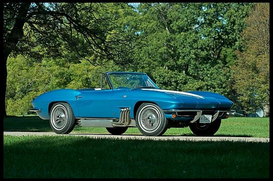 This 1963 Corvette was the personal car of Harley J. Earl, who served as GM's designer until 1958. Photo: Mecum