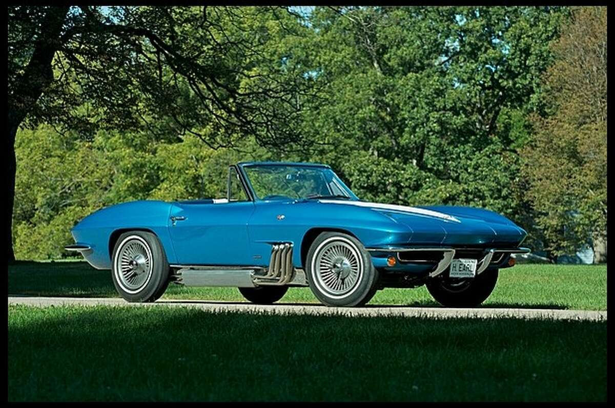This 1963 Corvette was the personal car of Harley J. Earl, who served as GM's designer until 1958.