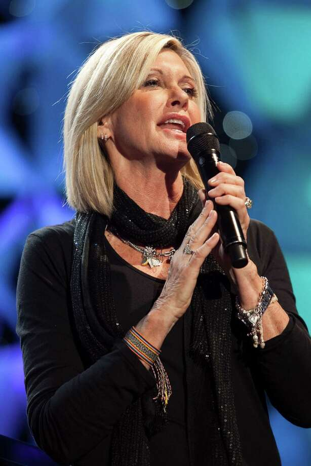 "WASHINGTON - NOVEMBER 16:  Olivia Newton-John rehearses at ""Kaleidoscope"" presented by sanofi-aventis US airing nationally on Thanksgiving Day on FOX at Verizon Center on November 16, 2009 in Washington, DC.  (Photo by Paul Morigi/Getty Images for Edge Health) Photo: Paul Morigi / 2009 Getty Images"