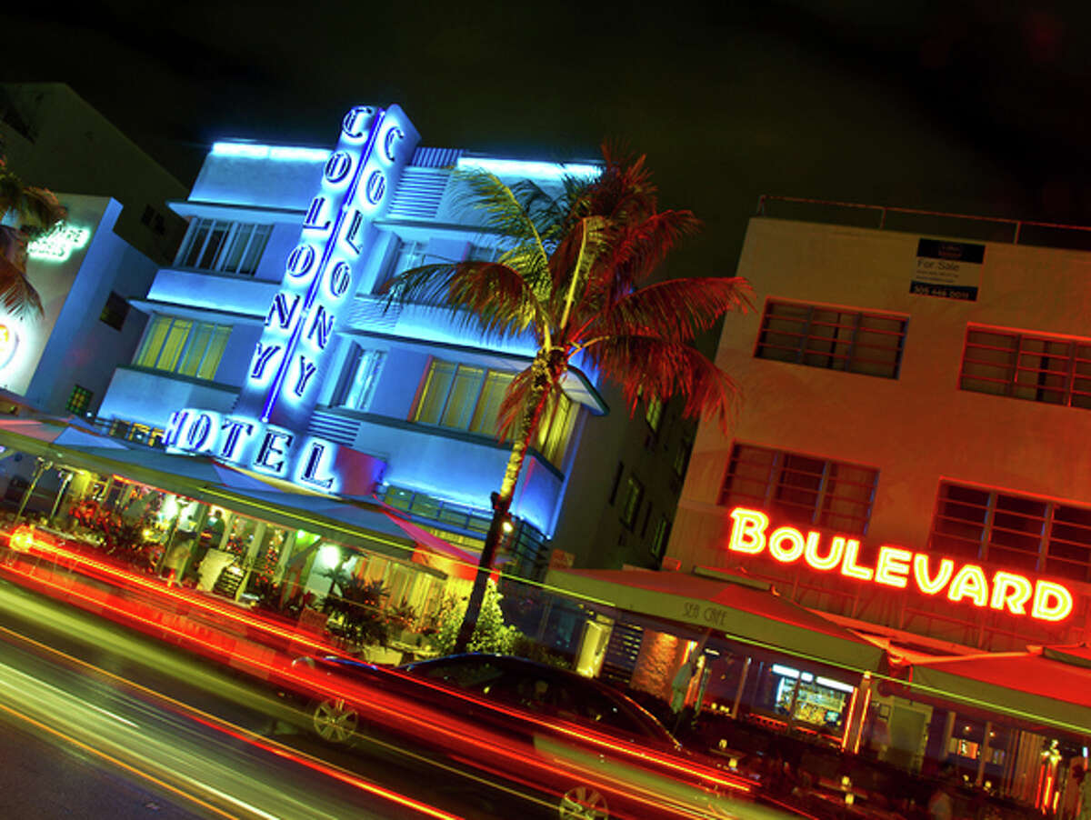 #10 Miami Beach, FL :  Maybe the nightlife warrants it, but Miami Beach really brings out its residents' inner fashionistas. Source: Flickr user Luis Rodriguez
