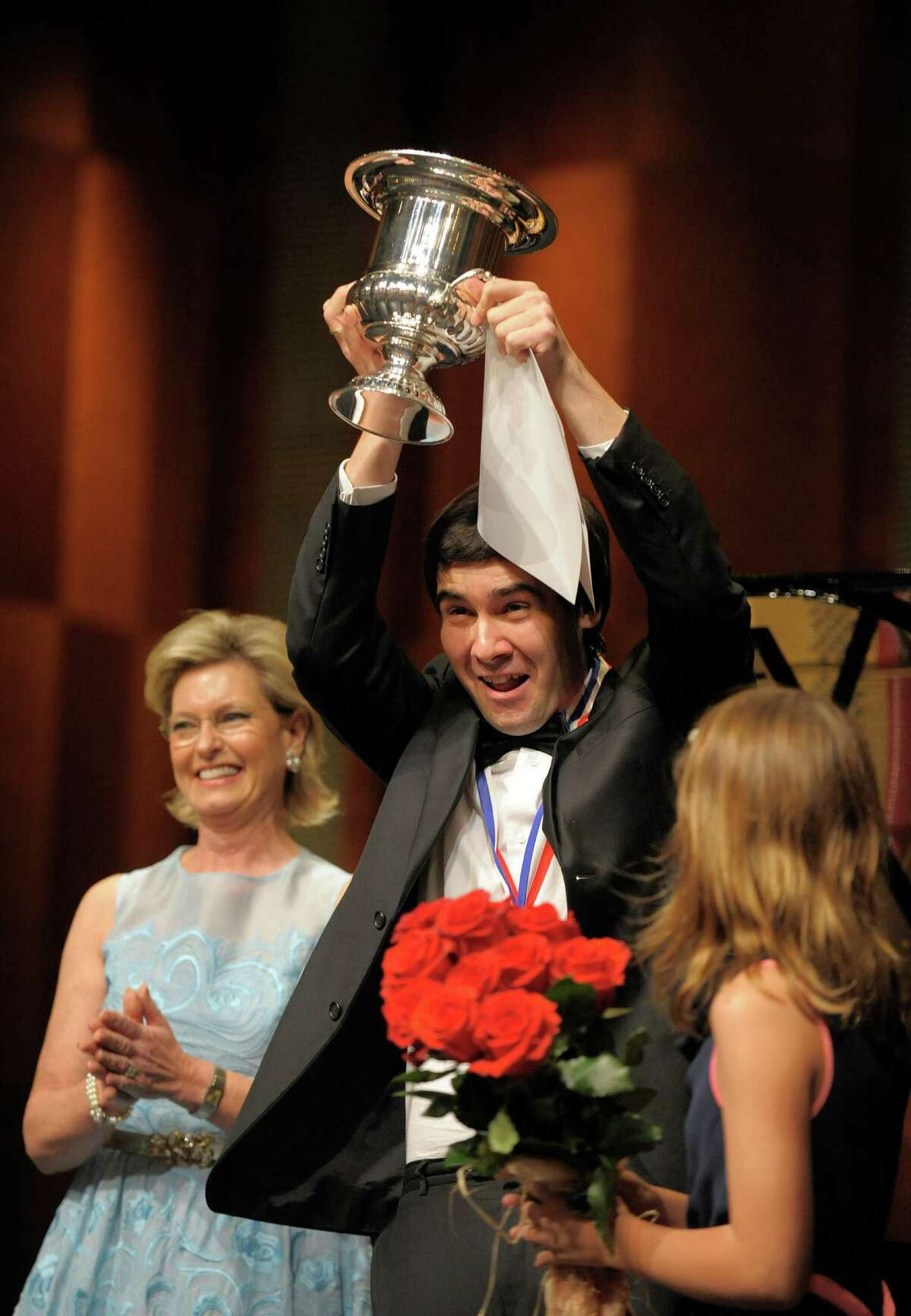 Vadym Kholodenko, winner of this year's Van Cliburn International Piano Competition, will play a recital at the Wortham Theater Center on Saturday.