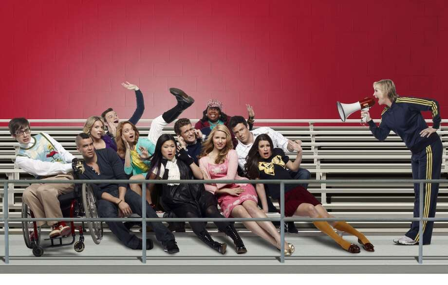 Glee premiered on Sept. 9 2009 and was rated among the top shows soon after the pilot episode aired. Photo: Patrick Ecclesine, FOX
