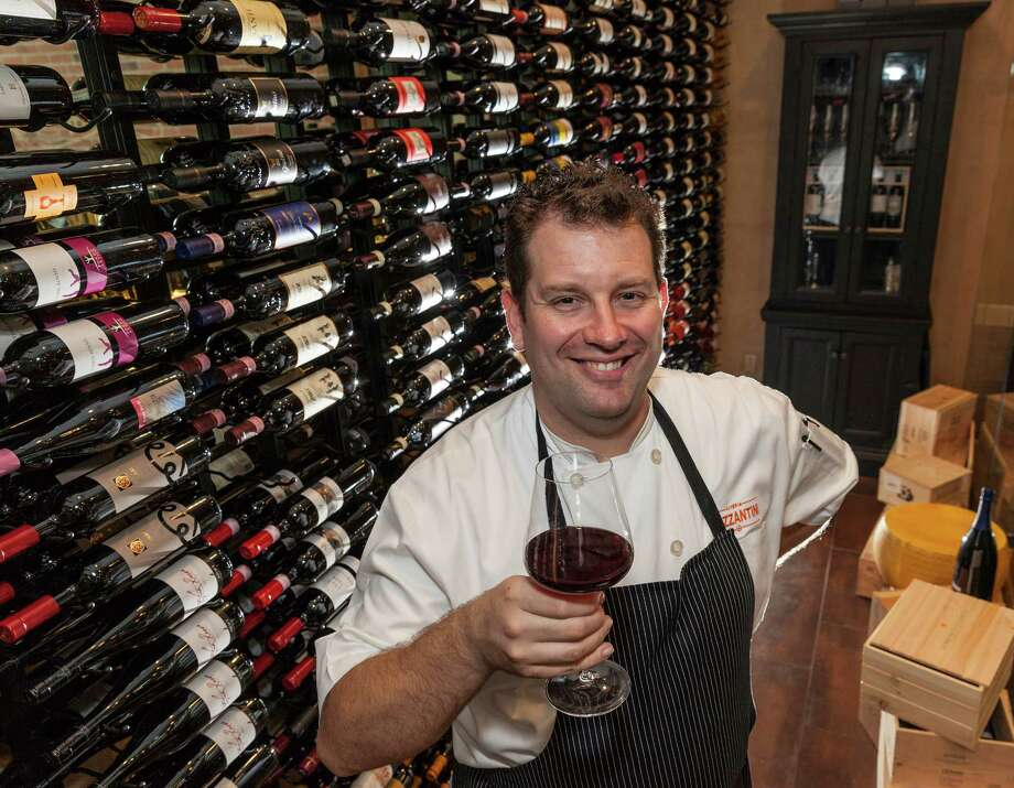 """Osteria MazzantiniOsteria Mazzantini chef Paul K. Lewis grew up in England in the village of Yattendon, about  an hour west of London, or as he likes to say, next door to Bucklebury,  """"the home of our future queen,"""" Catherine, Duchess of Cambridge.Life for the young English lad sounds as normal and homey as an  American slice of Mayberry. He grew up in a home that worked a good  garden and baked its own bread. Farm-to-table dining wasn't a culinary  trend, it was a way of life. """"We'd get fresh pheasants, partridge and  hares directly from the game keeper. Kids were selling pike from the  river. We had local eggs, and fresh cream and cheese from not too far  away,"""" said the 37-year-old chef. """"To me, that's just how it was.""""One thing you might not know about Lewis:""""My favorite hangout in Houston is Red Lion - as close to a British pub experience as you can get here."""" Photo: Craig Hartley, Freelance / Copyright: Craig H. Hartley"""