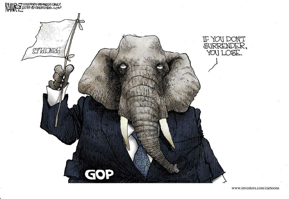 Today's edtiorial cartoon is by Michael Ramirez of Investors Business Daily.