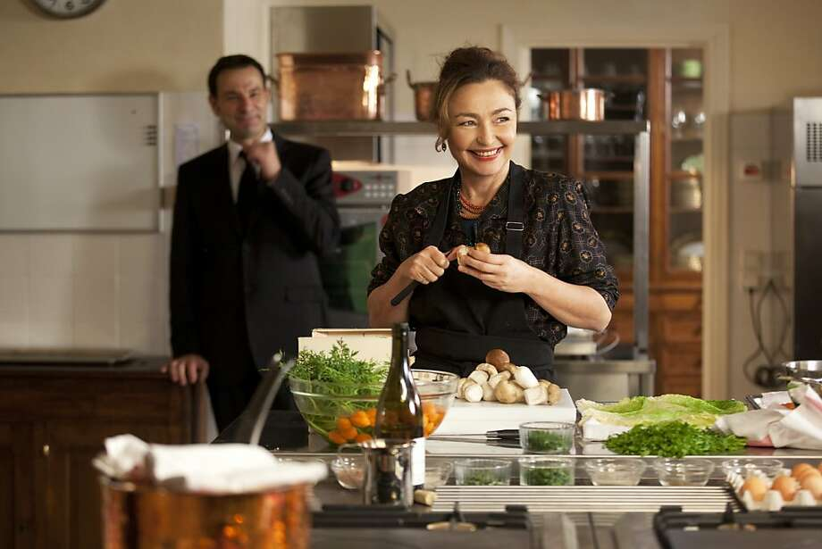 Catherine Frot is Hortense Laborie, brought in to cook for the president. Photo: Anouchka De Williencourt, The Weinstein Company
