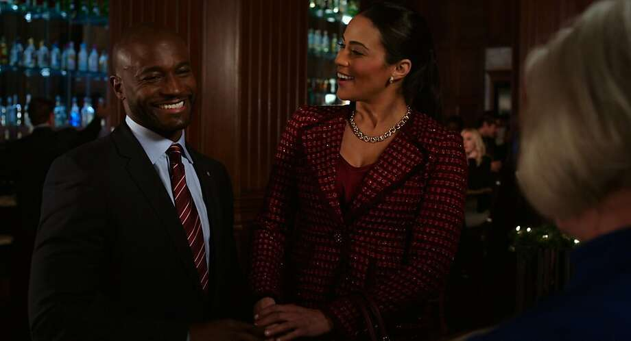 Taye Diggs plays Langston, one of the many to date flight attendant Montana Moore (Paula Patton). Photo: Fox Searchlight