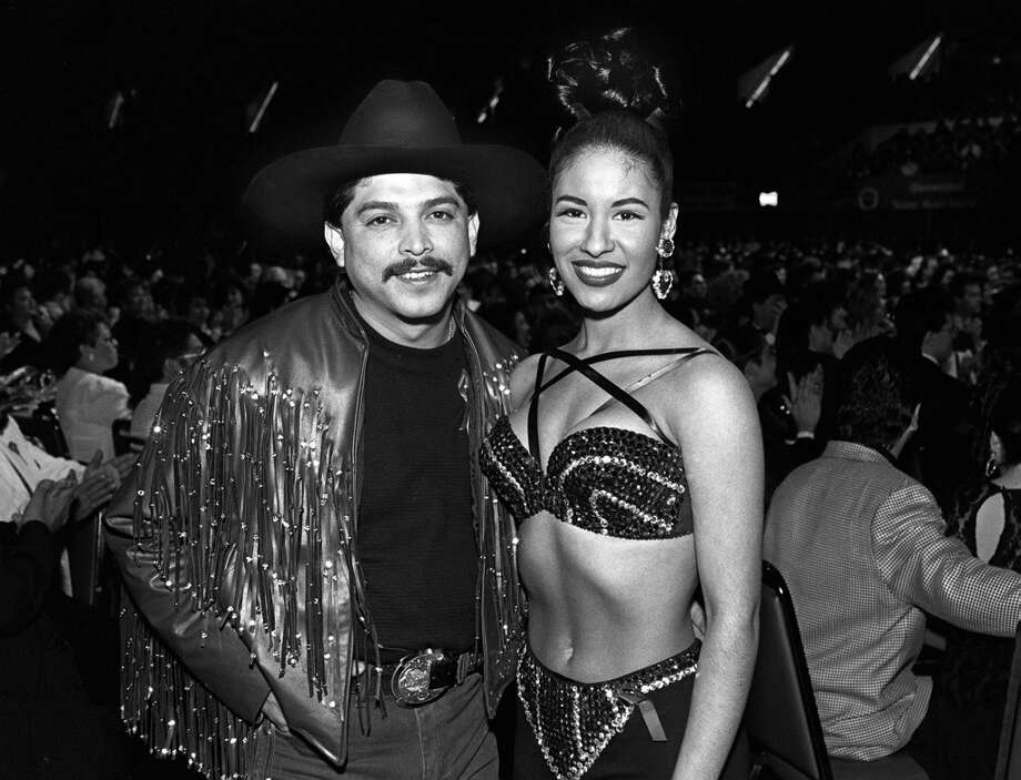 Emilio Navaira and Selena won top awards at the 1993 Tejano Music Awards. Photo: BOB OWEN, EXPRESS-NEWS FILE PHOTO