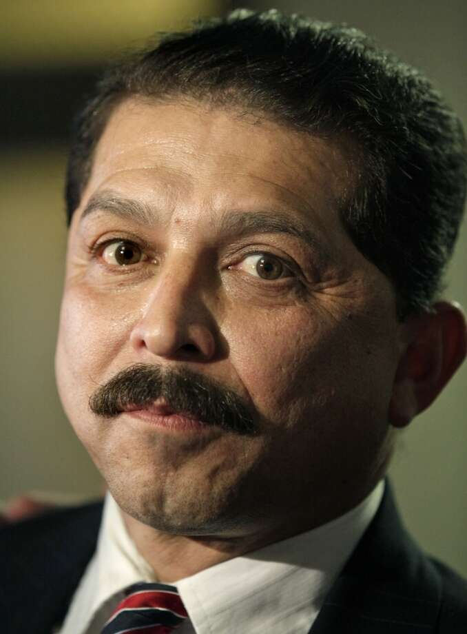 Emilio Navaira speaks to the media following his trial at the Bexar County Courthouse, Monday, Jan. 10, 2011. Photo: BOB OWEN, SAN ANTONIO EXPRESS-NEWS