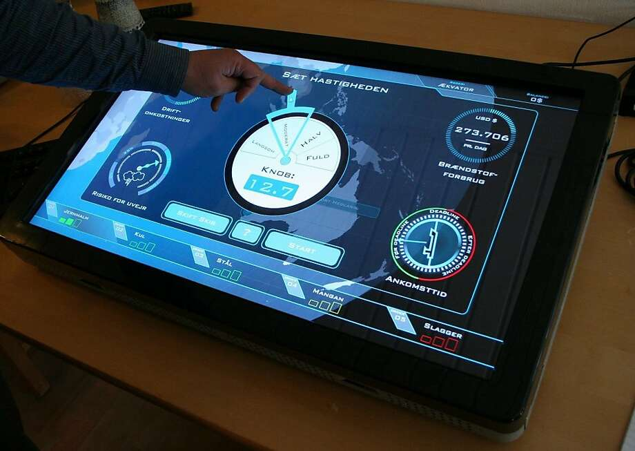 Interactive exhibits explore a sailor's world from tattoos to navigation tools. Photo: M/S Maritime Museum Of Denmark