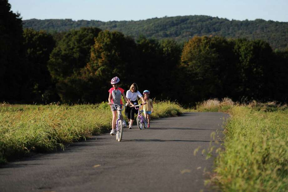 It's still National Bike Month, so get out there and ride. Here's a guide to some great bike-riding spots around Southwestern Connecticut.  Photo: Tyler Sizemore / The News-Times