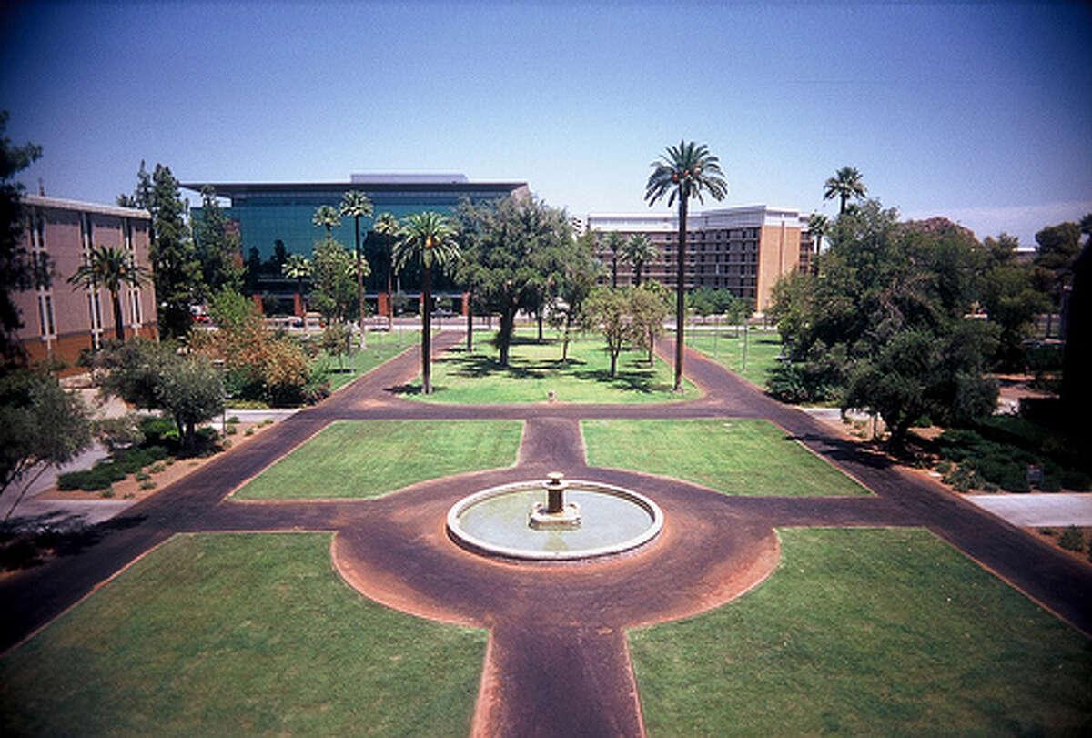 10. Arizona State University Located in Tempe, Arizona Enrollment: 76,771