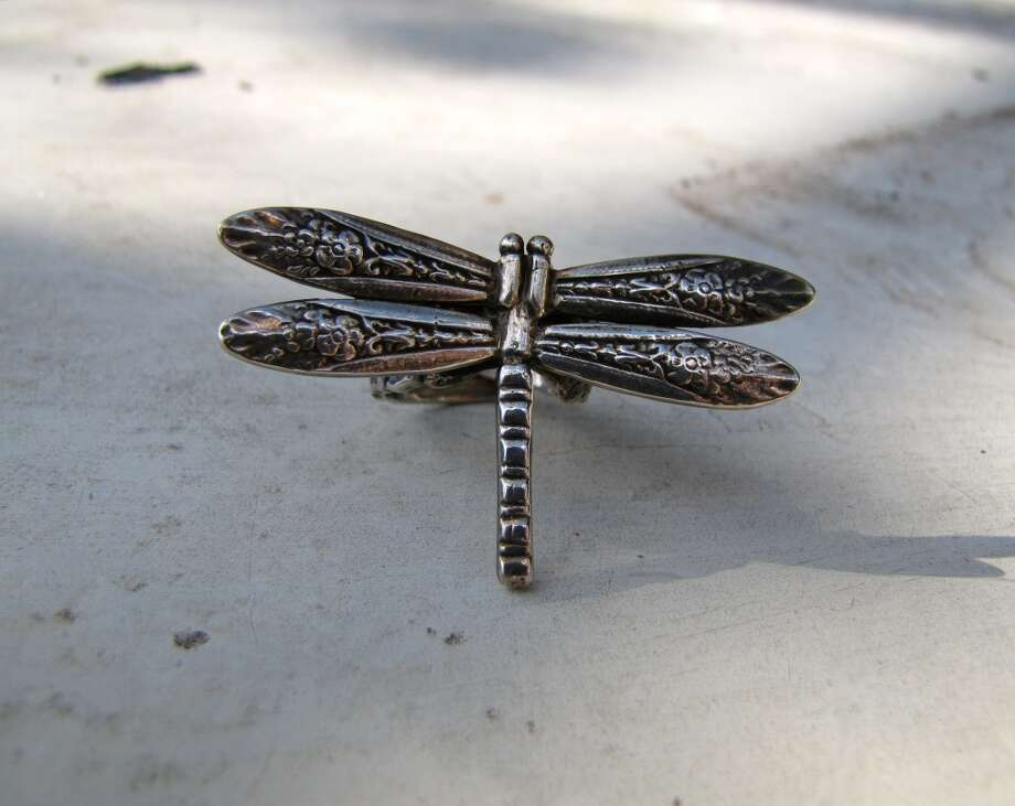 Dragonfly ring, Deco Designs, $55. Burns Antik Haus, Beaumont Photo: Cat5