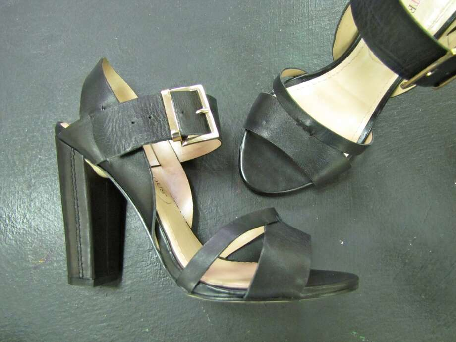 Stacked-heel sandal, $27.99. NV Boutique, Beaumont Photo: Cat5