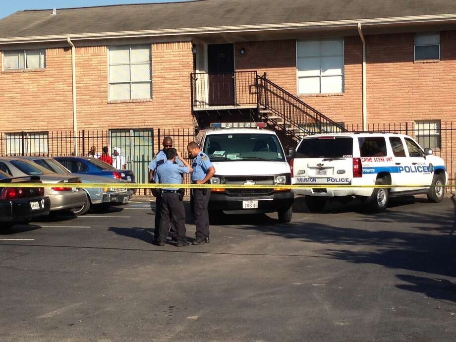 Billy Chatman was found dead in the living room of his apartment on Attucks in southeast Houston on Wednesday.(Photo by Mike Glenn/Chronicle)