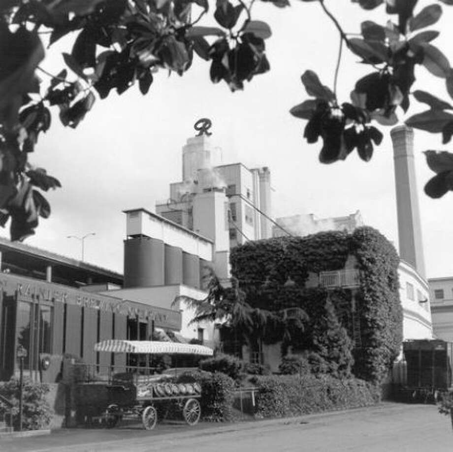 The old brewery in 1989. Photo: P-I File