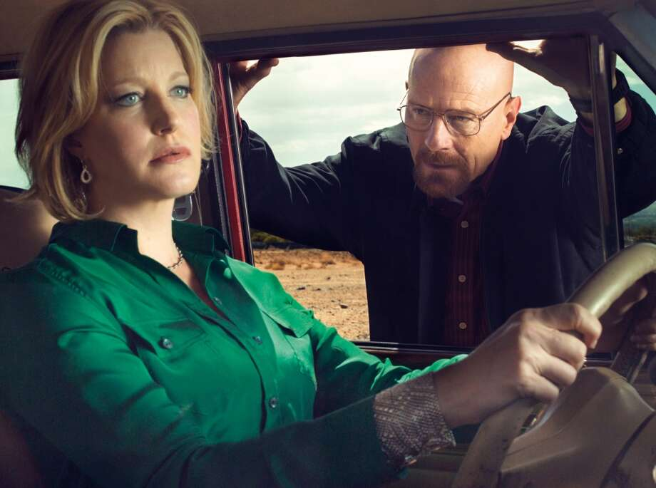 "It's safe to say, as ""Breaking Bad"" gears up for its final episode, that the White family may be the most dysfunctional in all of television. I guess we can't blame them. The show debuted in 2008. Photo: Ben Leuner"