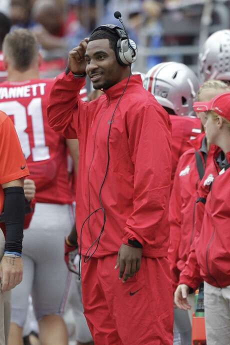 Ohio State QB Braxton Miller has been sidelined with a sprained knee but will start Saturday. Photo: Jay LaPrete / Associated Press