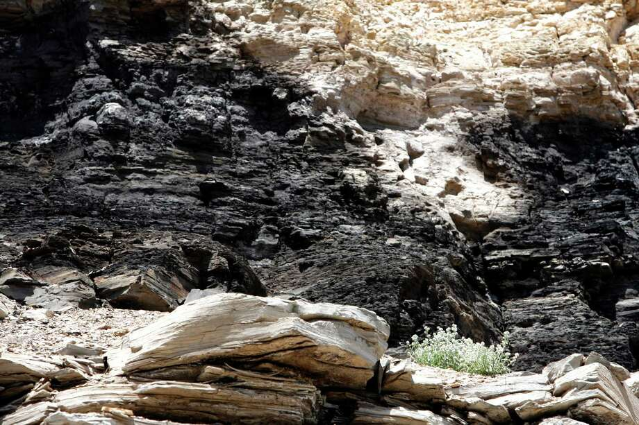 Oil shale rock in Colorado has proved difficult to crack economically despite a quest that has cost millions and lasted for decades. Photo: Kevin Fujii, Staff / Houston Chronicle