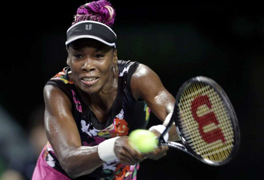 Venus Williams had to rally from a set down in Tokyo to advance to the quarterfinals of the Pan Pacific Open, where she is making her first appearance since 2009. Photo: Shizuo Kambayashi, STF / AP