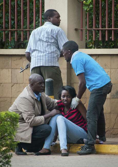 Victims of the attack in Nairobi, Kenya, who were brought to safety say their rescuers' heroism hasn't gotten enough attention. Photo: Jonathan Kalan / Associated Press