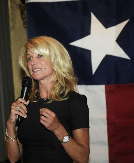 State Sen. Wendy Davis gained national attention for her nearly 13-hour filibuster against an abortion bill in Austin in June. Photo: Associated Press