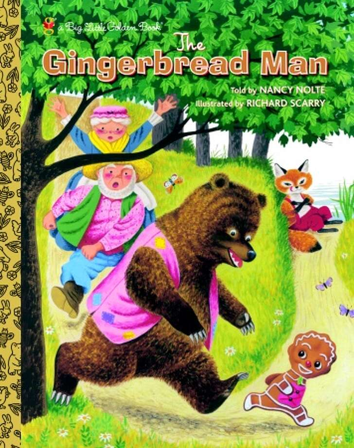 The Gingerbread Man: Out of print for over 30 years, this book shows off Richard Scarry's early painterly illustration style.