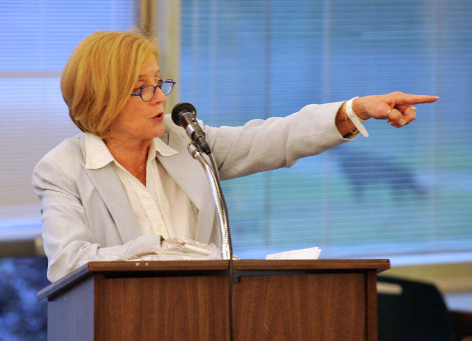 Superintendent of Stamford Schools Dr. Winifred Hamilton presented five possible options for resolving overcrowding at Wednesday night's Board of Education meeting. Hamilton is seen here in this Aug. 21, 2013, file photo. Photo: Jason Rearick / Stamford Advocate