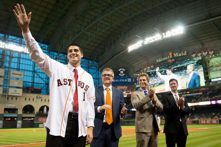 The Astros have already guaranteed another No. 1 draft pick. The next MLB draft isn't until 2014, it's never too early to start getting acquainted with players who could help turn around the franchise.  Can't-miss pitching prospect Mark Appel was the top pick in 2013, so here is an early look at some the best arms in the college ranks for next season's draft. Photo: Smiley N. Pool, Houston Chronicle