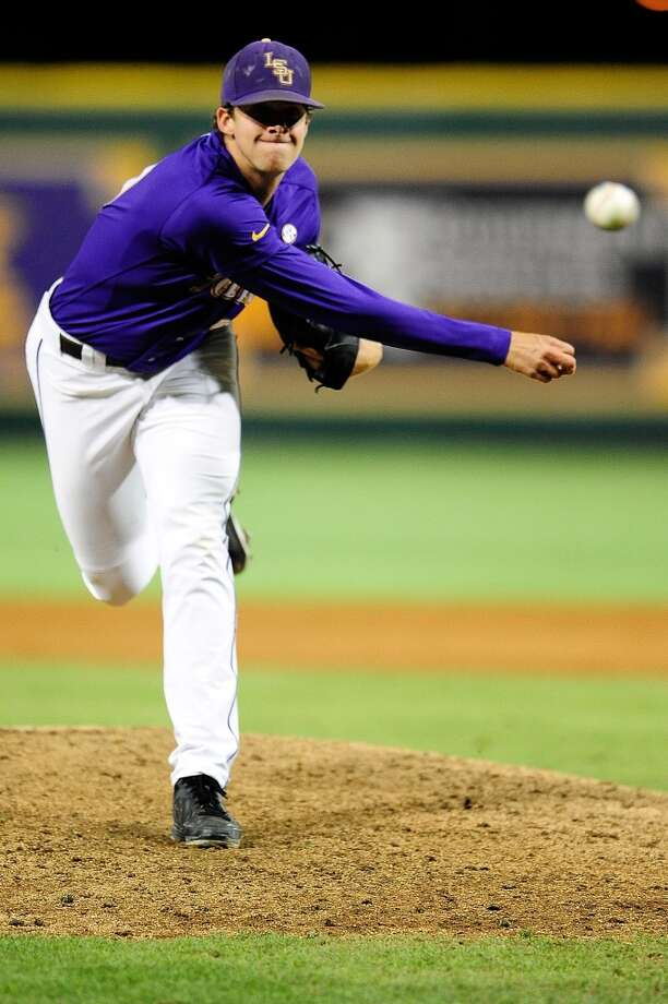 RHP Aaron Nola  Height/weight: 6-1, 185 pounds  College: LSU Photo: Stacy Revere, Getty Images