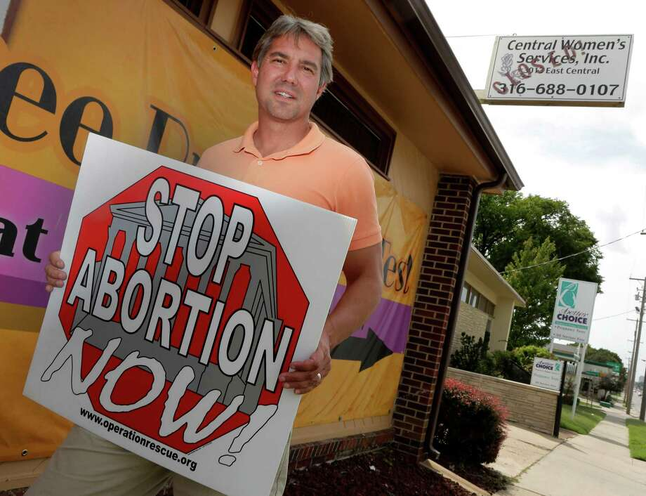 Troy Newman, head of the Wichita-based Operation Rescue, says his goal is to put the city's only remaining abortion clinic out of business. The justices this fall may hear its first abortion case since 2007, a review of an Oklahoma law that would restrict the use of certain abortion-inducing drugs such as RU-486. Photo: Charlie Riedel