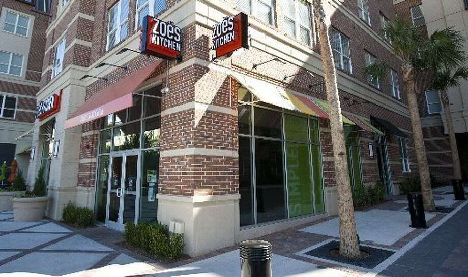 Zoe's Kitchen is among the new restaurants at Hanover Rice Village. Photo: Nick De La Torre, Houston Chronicle