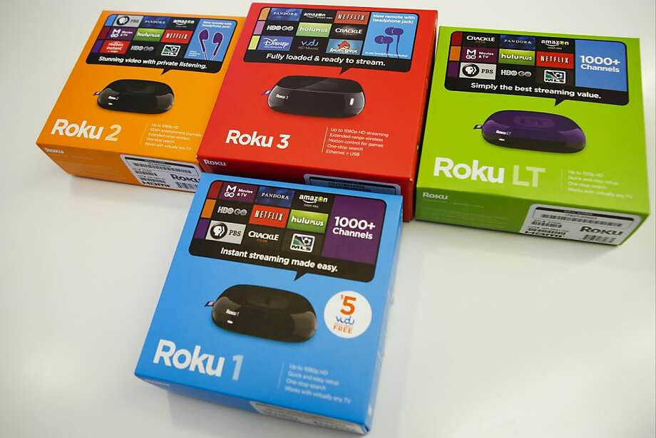 Roku, which makes television streaming players that offer access to much more content than Apple TV provides, has released new versions of its devices. Photo: Patrick T. Fallon, Bloomberg