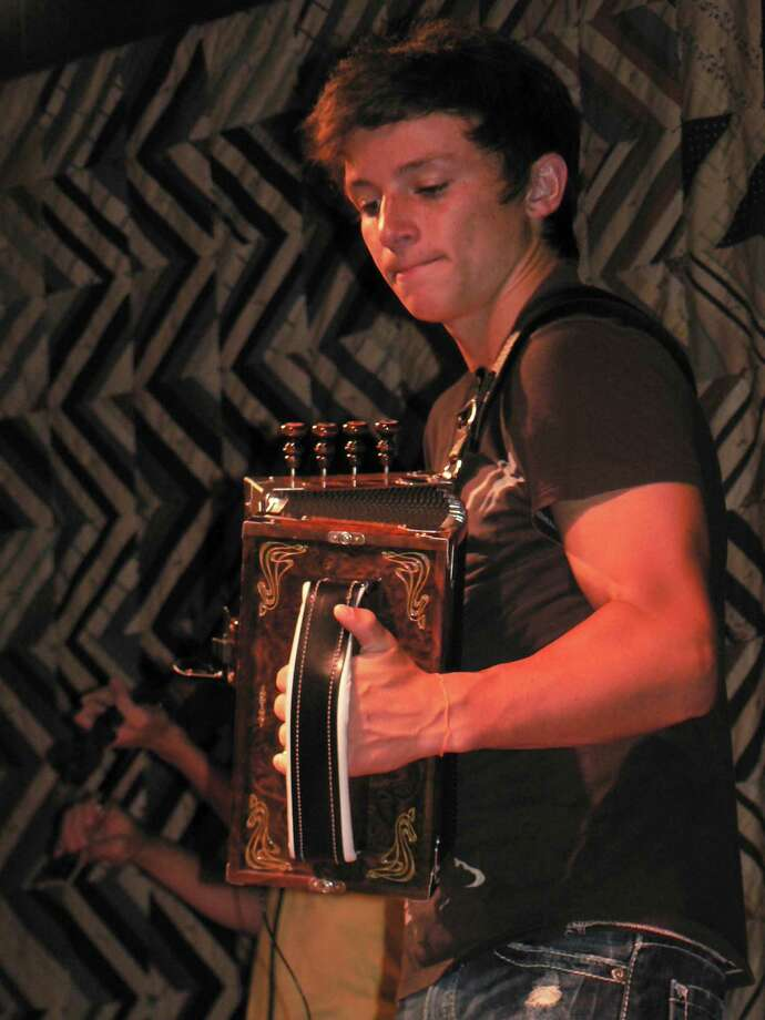 Accordionist Briggs Brown, 20 (courtesy)
