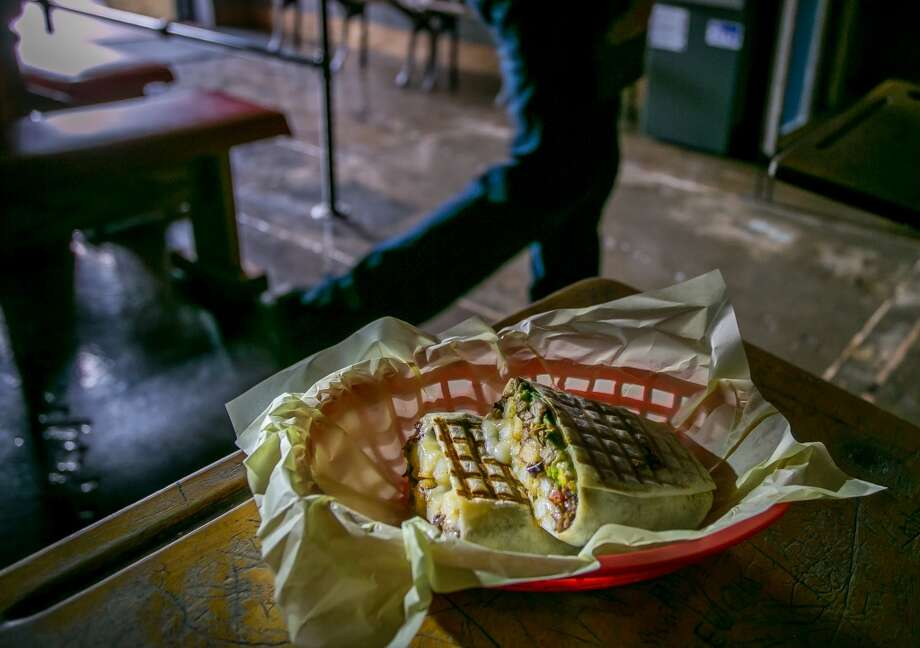 The  Cali Steak Zapato at Garaje in San Francisco. Photo: John Storey, Special To The Chronicle