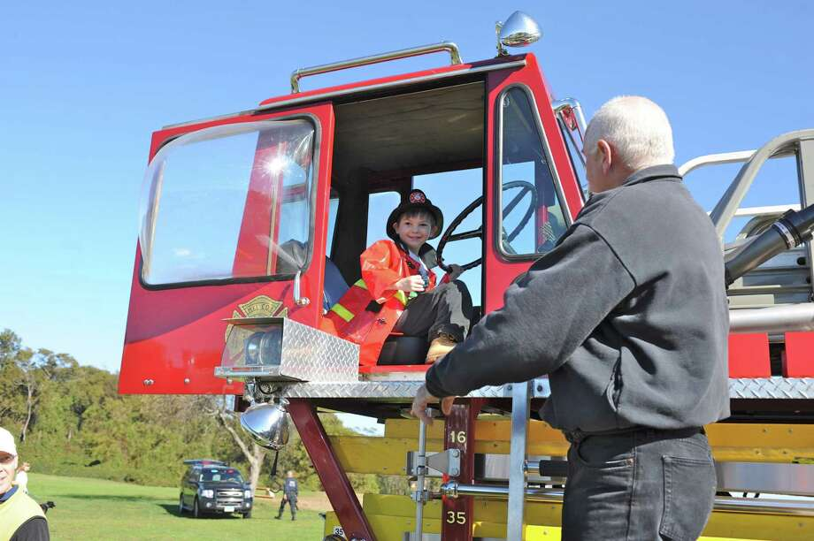 Big boy toys: Kidzfest Touch-A-Truck Fundraiser will roll into Taylor Farm Park in Norwalk on Saturday, Oct. 5. Photo: Contributed Photo