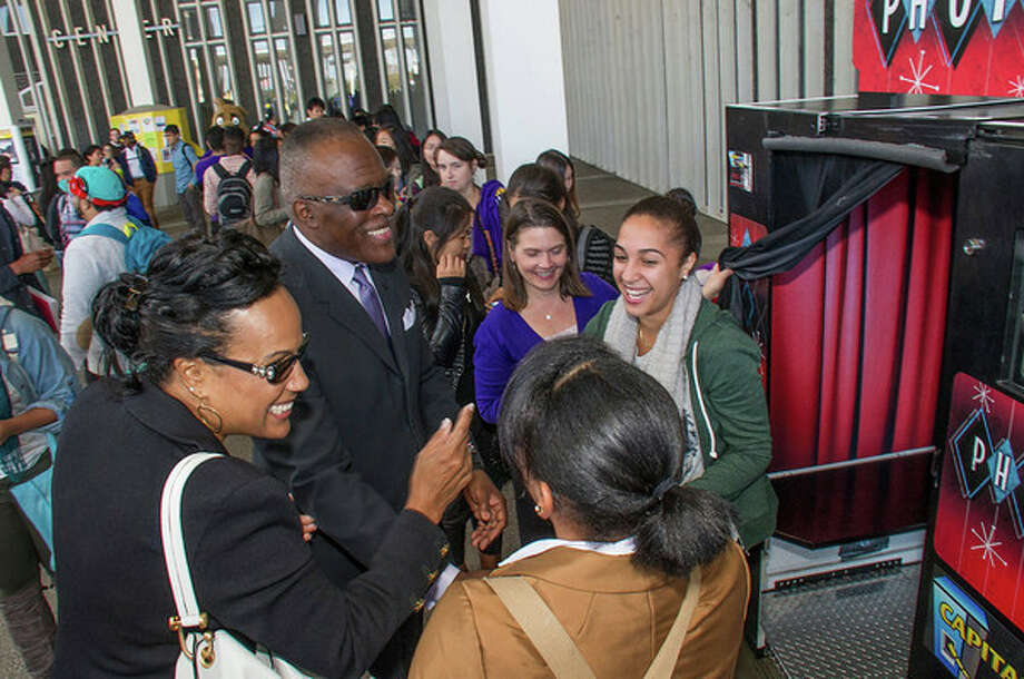Were you Seen at the We Are UAlbany Celebration of Pride, Spirit and Community event on the UAlbany campus on Thursday, Sept. 26, 2013? Photo: Mark Schmidt And Gina Muscato