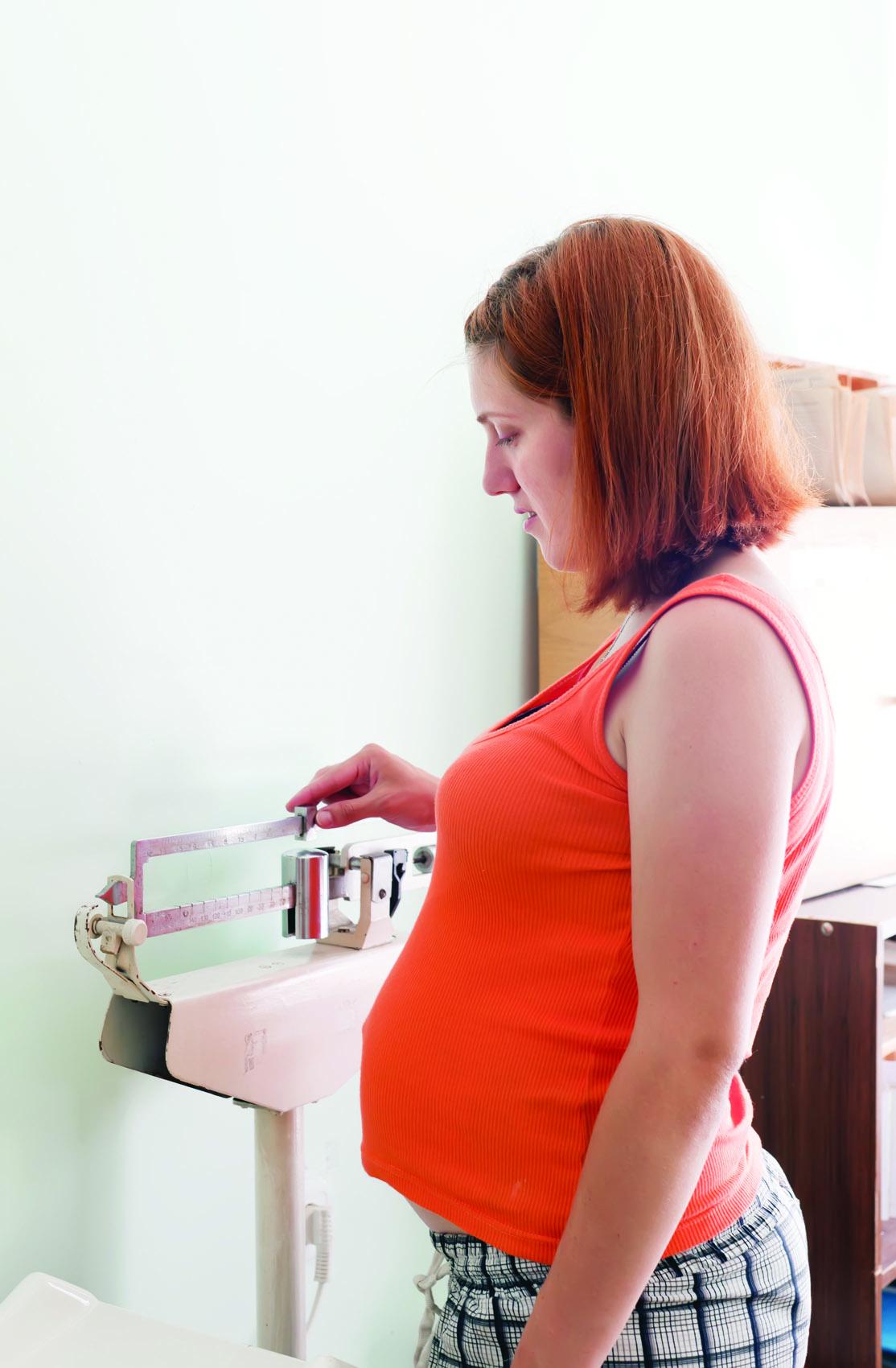 Патологическая прибавка в весе беременных женщин