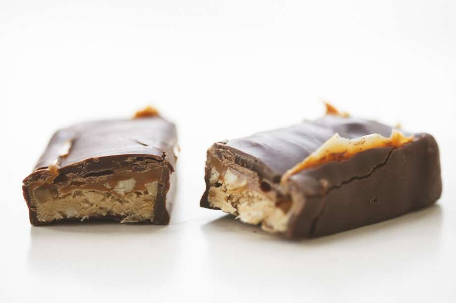 The best ... 1.Candy bar: 16%  Candy bar was also named the best 'one-handed food' and most 'tasty,' as well as least likely to leave a lingering smell in the car. Photo: Michael Paulsen, Houston Chronicle