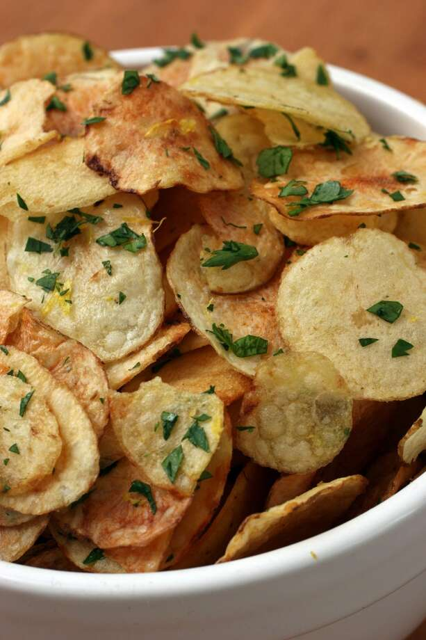 3.Potato chips: 9% Photo: LARRY CROWE, AP