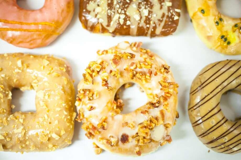 (tie) 4.Doughnut: 8% Photo: Astro Donuts