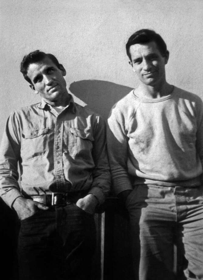 "This alternate shot of Cassady and Kerouac was on the cover of some editions of ""On the Road,"" bible of the  Beats, published in 1957. Carolyn Cassady/the Cassady Family"
