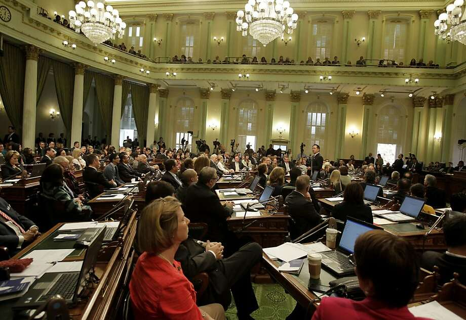 Democrats last acquired a supermajority four years ago, and it produced more infighting than power plays. Photo: Brant Ward, The Chronicle