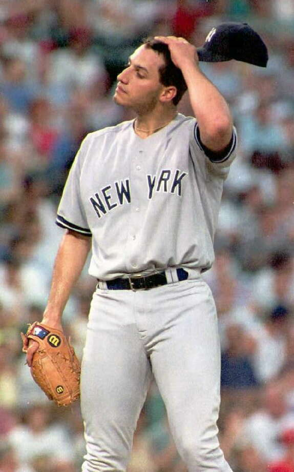 1995Starts: 26Record: 12-9Innings pitched: 175Strikeouts: 114ERA: 4.17Pettitte made his major league debut with the Yankees on April 29, 1995. Once he solidified his spot in the rotation, he performed well - finishing third in AL Rookie of the Year voting and pitching in the second game of the ALDS against the Mariners in which he threw seven innings while allowing four runs on the front half of a 15-inning victory for New York. Photo: PAUL K BUCK, AFP/Getty Images / AFP