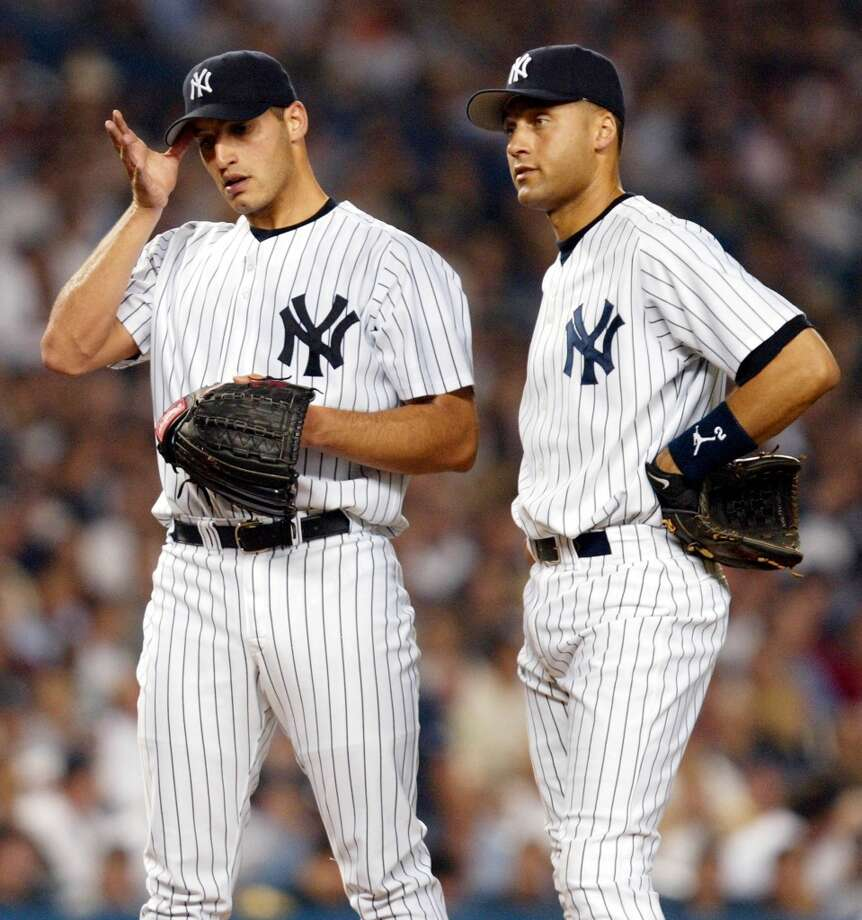 2002Starts: 22Record: 13-5Innings pitched: 134.2Strikeouts: 97ERA: 3.27 Pettitte won 13 of his 22 starts in 2002, but the Yankees didn't have much luck after winning 103 games during the regular season as they bowed out in the ALDS against the Anaheim Angels, who would go on to win the World Series. Photo: MATT CAMPBELL, AFP/Getty Images