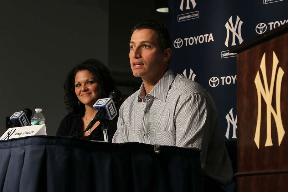 2011Retired for one seasonPettitte announced his retirement on February 4, 2011. He spent one year away from baseball. Photo: Jim McIsaac, Getty Images