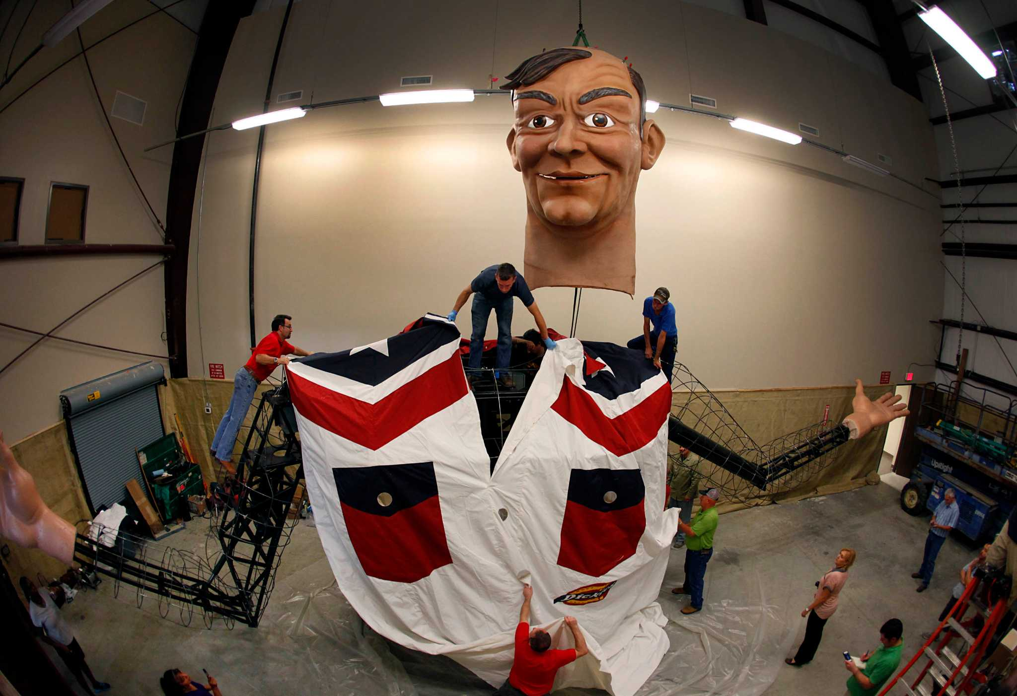 State fairs new big tex is revealed houston chronicle publicscrutiny Image collections