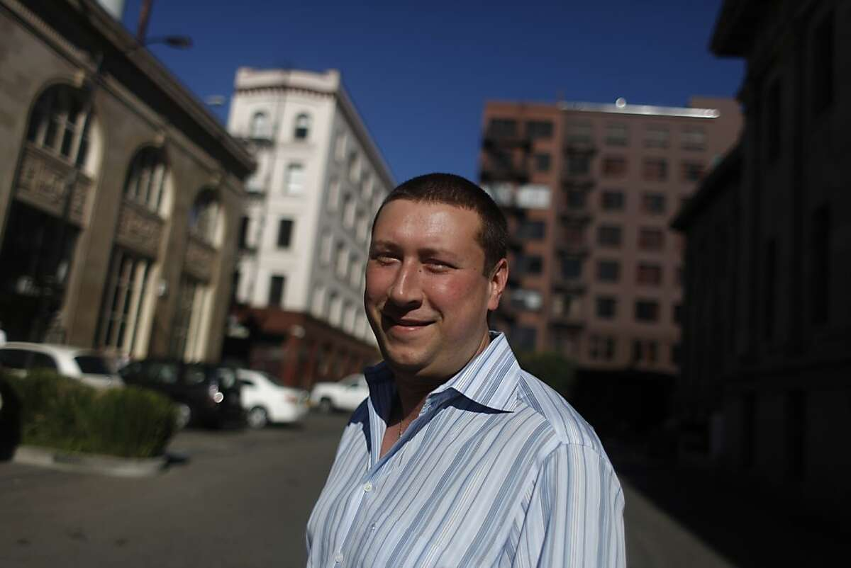 Andy Barkett, Chief Technology Officer for the Republican National Committee, is seen on Wednesday, September 25, 2013 in San Francisco, Calif.