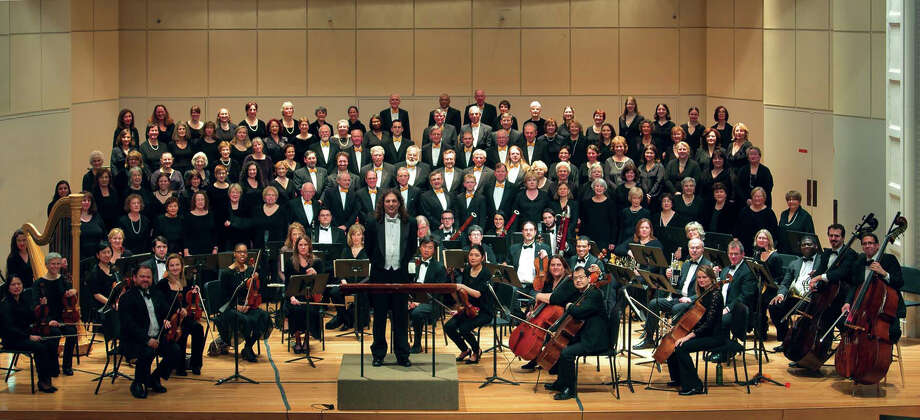 "Members of the Fairfield County Chorale will join forces with the New Haven Symphony Orchestra (not shown) for a ""Grand Concert of Choral and Orchestral Favorites"" Saturday, Oct. 5, in Norwalk. Photo: Contributed Photo / Connecticut Post Contributed"