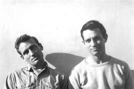 Neal Cassdy, left, and Jack Kerouac in 1949.
